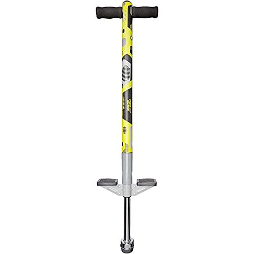 Think Gizmos Pogo Stick para niños - Saltadores para niños Modelo Aero Advantage - Juguetes niño 5 años a 10 años MAX 36 kg - Stick Jumper (Negro y Amarillo)