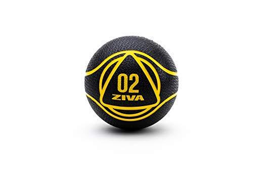 ZIVA Essentials Balon Medicinal, Adultos Unisex, Negro/Amarillo, 2Kg