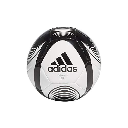 Adidas GH6616 STARLANCER MINI Soccer ball, Unisex-Youth, blanco/negro