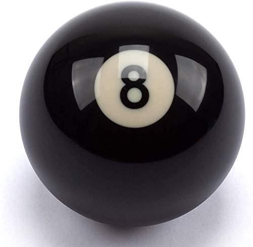 BILLARES Y DARDOS CAMARA Bola de Billar 8 tamaño 57,2mm para Bolas de Billar Americano, Bola Negra
