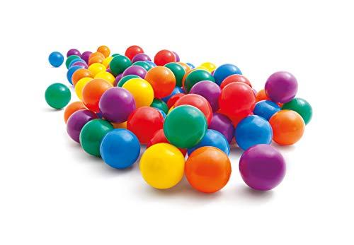 Intex 49602NP - Pack 100 bolas multicolor de 6,5 cm diámetro , color/modelo surtido