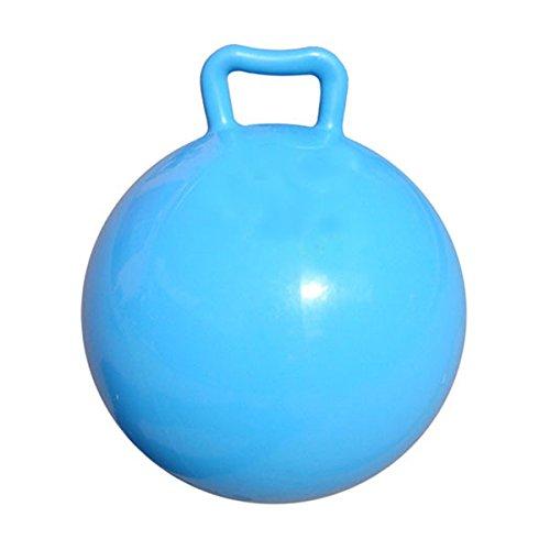 LEORX Sentarse y salto Salto salto de bola con mango inflable de la despedida de los niños