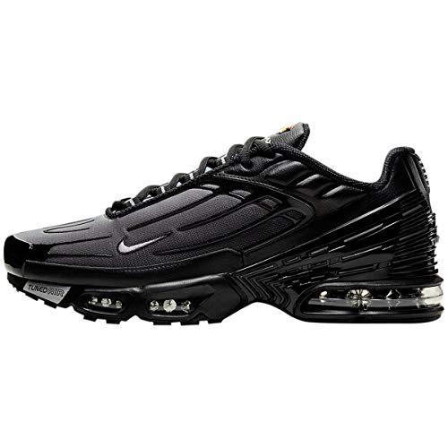 Nike Air MAX Plus III, Zapatillas para Correr Hombre, Black Wolf Grey Black, 37.5 EU