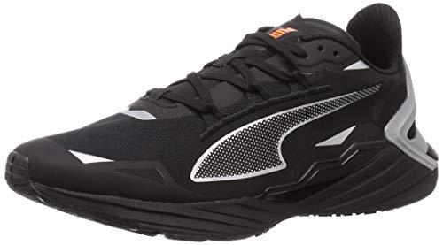 PUMA ULTRARIDE Runner ID, Zapatillas para Correr de Carretera Hombre, Negro Black/Metallic Silver, 40 EU