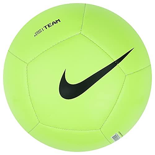 Nike Pitch Team Ball DH9796-310 - Balón de fútbol, Color Verde y Negro