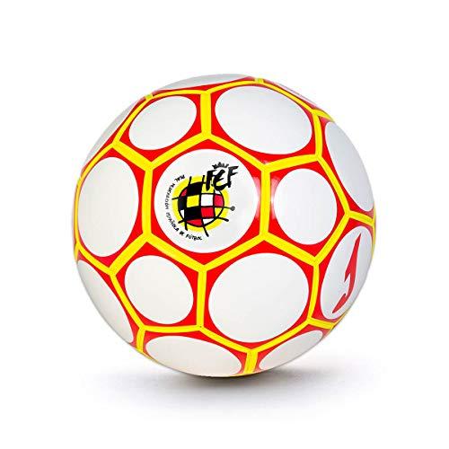 Joma Comité Nacional Fútbol Sala España (58 cm), Balón, Blanco-Rojo, Talla 3 (58 cm)