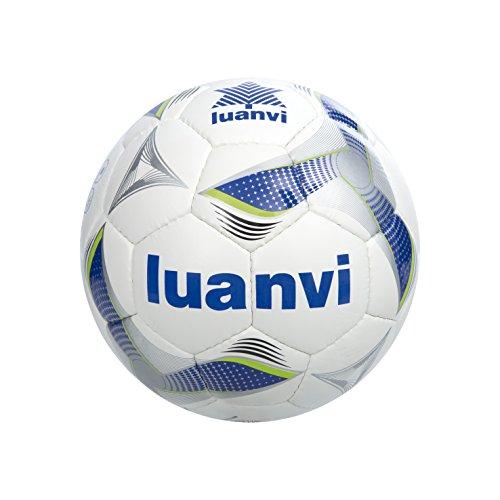 Luanvi Cup Balón, Adultos Unisex, Azul Royal/Pistacho, 62 cm