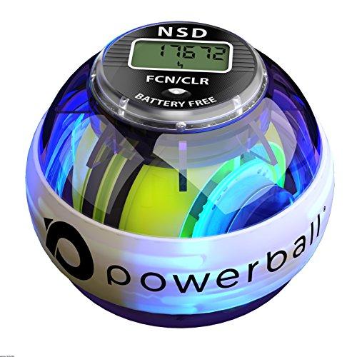 Powerball NSD 280Hz Autostart Ejercitador de Brazo, y Fortalecedor de Antebrazos, Mano y Muñeca, Negro (Pro Fusion)