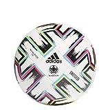 adidas UNIFO LGE XMS Balón de Fútbol, Men's, White/Black/Signal Green/Bright Cyan, 4