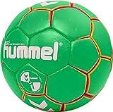 Hummel Hmlkids Balón de Balonmano Unisex, Color Verde/Amarillo, 0