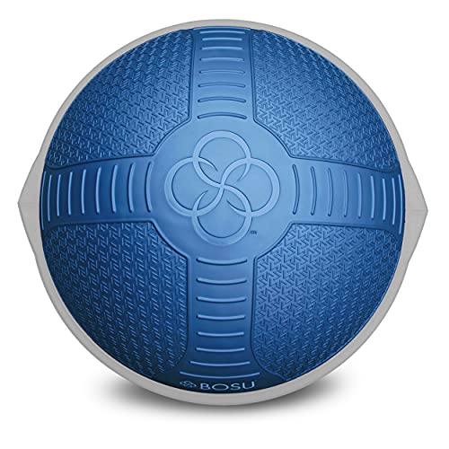 Bosu Pro NextGen Entrenador de Equilibrio con diseño Texturizado, Unisex, Azul, 65 cm