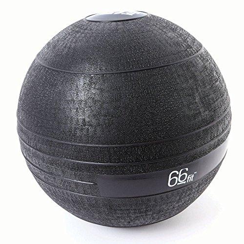 66 Fit - Pelota lastrada, Color Negro Negro Negro Talla:5 kg