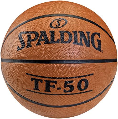 Spalding TF50 Outdoor SZ.6 (73-851Z) balón de Baloncesto, Unisex, Naranja, 6