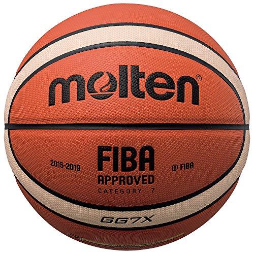 Molten BGG6X Balon DE Baloncesto, NO, Naranja y Marrón Claro, Talla 6